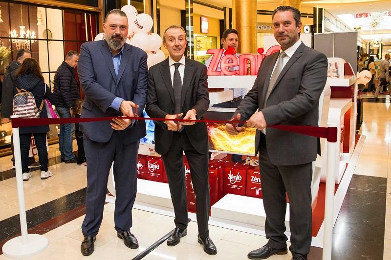 Εγκαινιάστηκε το 1ο ZeniΘ Pop-Up store στο Golden Hall, με πλούσια δώρα και προσφορές