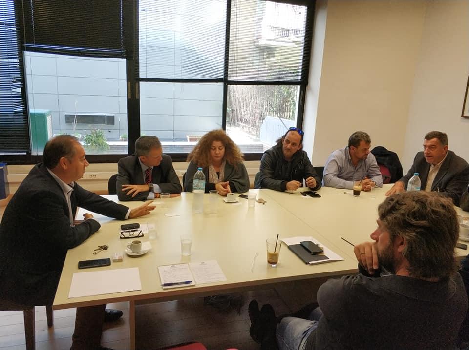 Γ. Αρβανιτίδης: Συναντήσεις με εργαζόμενους στον ηλεκτρισμό και το φυσικό αέριο