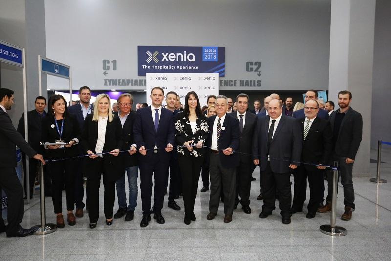 Λαμπερά εγκαίνια της έκθεσης Xenia 2018