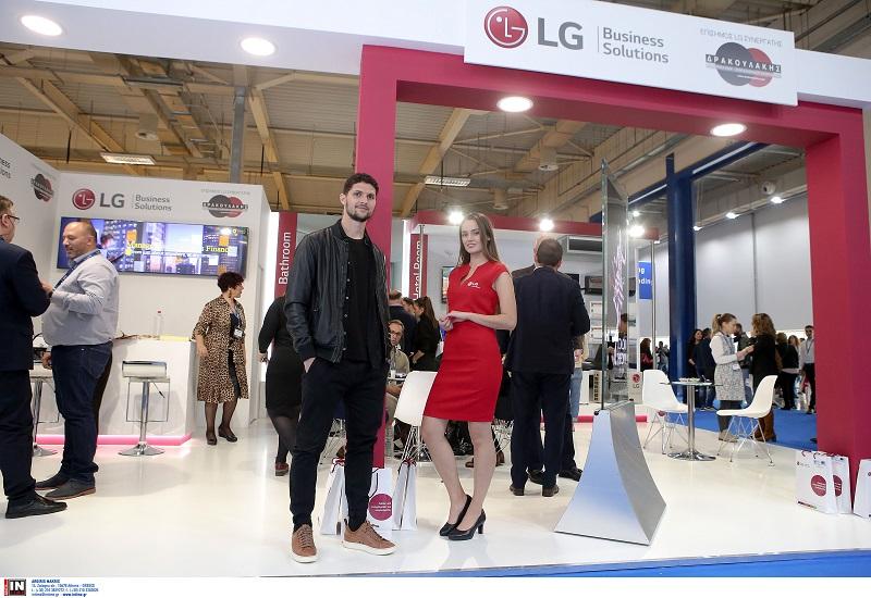 Η LG στήριξε ως Grand Sponsor το καινοτόμο project Hotel Megatrends στην έκθεση XENIA 2018
