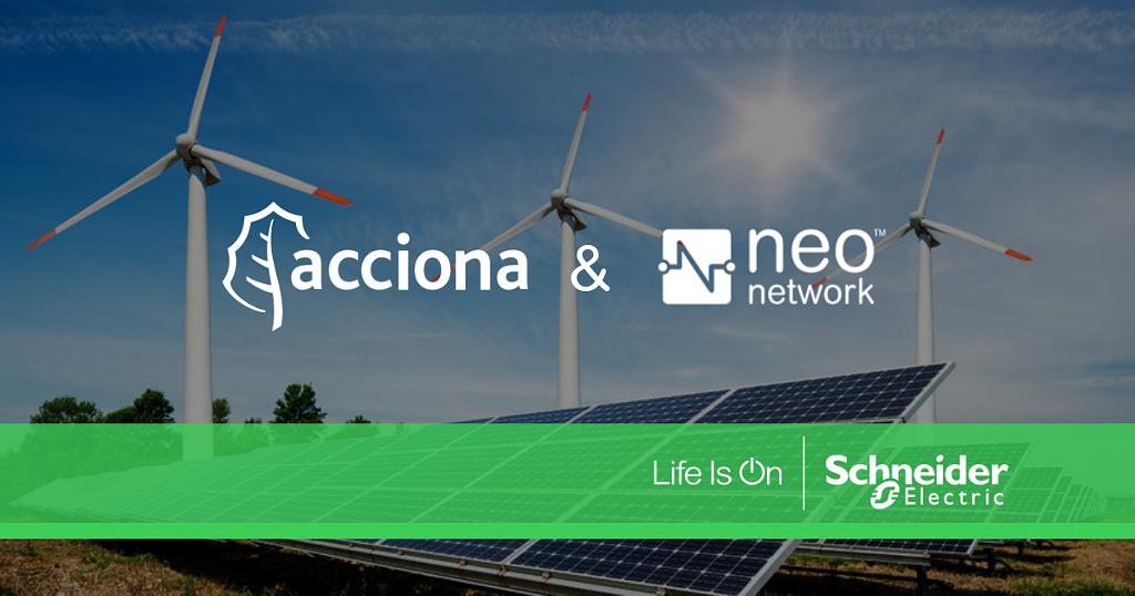 Συνεργασία Schneider Electric-Acciona Energy για την ταχύτερη διάδοση των ΑΠΕ στις επιχειρήσεις