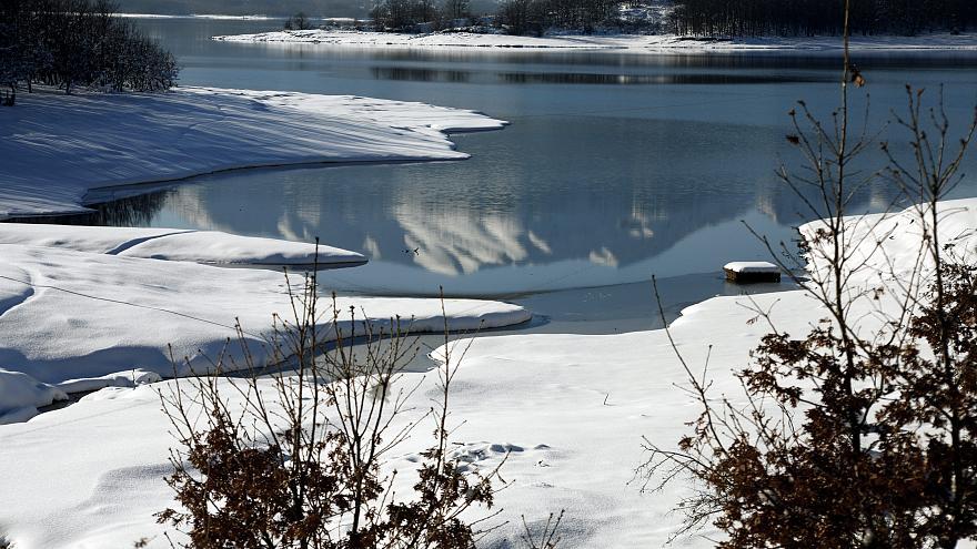 Χιλιάδες λίμνες χωρίς πάγους το χειμώνα