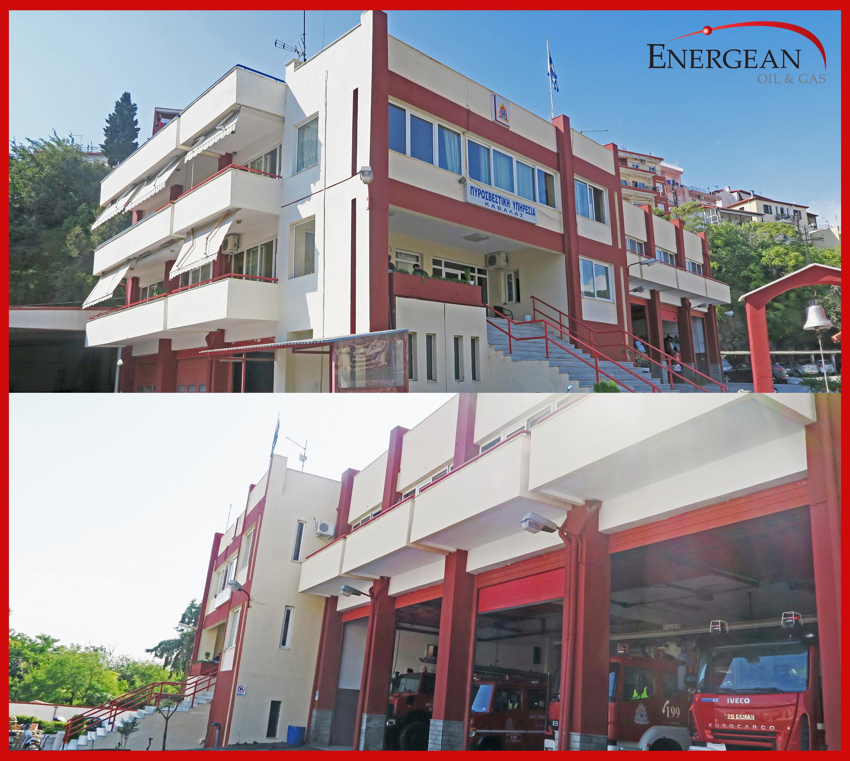 Ευρεία άσκηση εκπαίδευσης του Πυροσβεστικού Σώματος στις εγκαταστάσεις της Energean στην Καβάλα