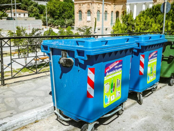 Η HELL ENERGY στηρίζει έμπρακτα την Ανακύκλωση Συσκευασιών στους Μπλε Κάδους