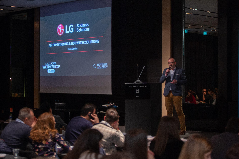 Η LG συμμετέχει δυναμικά στο δεύτερο 100% Hotel Workshop Tour