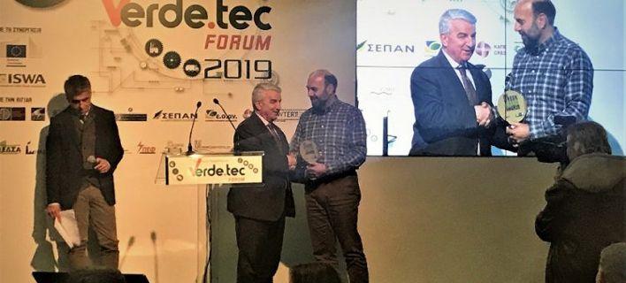 Το πρώτο βραβείο «Greek Green Awards 2019» απονεμήθηκε στην Δήμο Οροπεδίου Λασιθίου