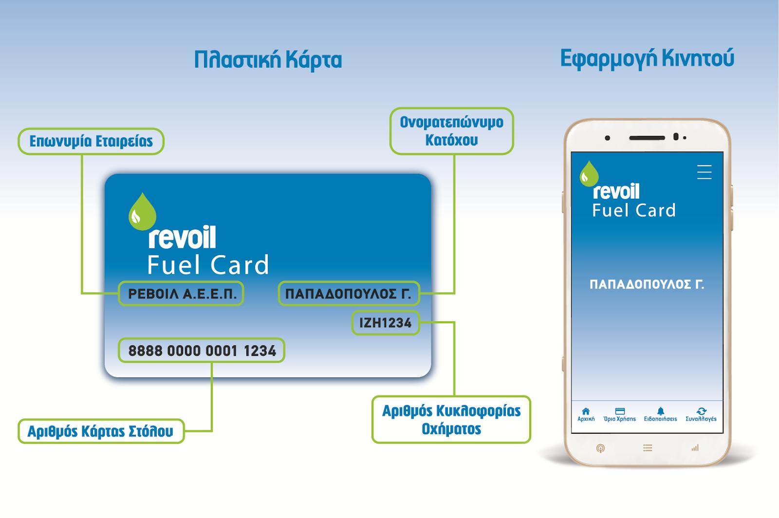 Η νέα Κάρτα Στόλου της REVOIL