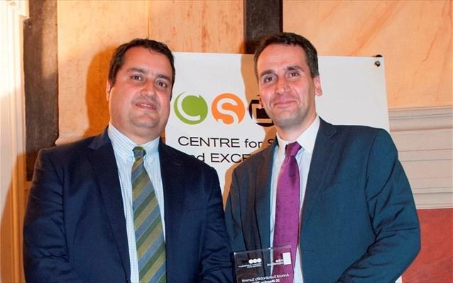 Βραβείο για την περιβαλλοντική του δράση έλαβε ο ΟΛΠ