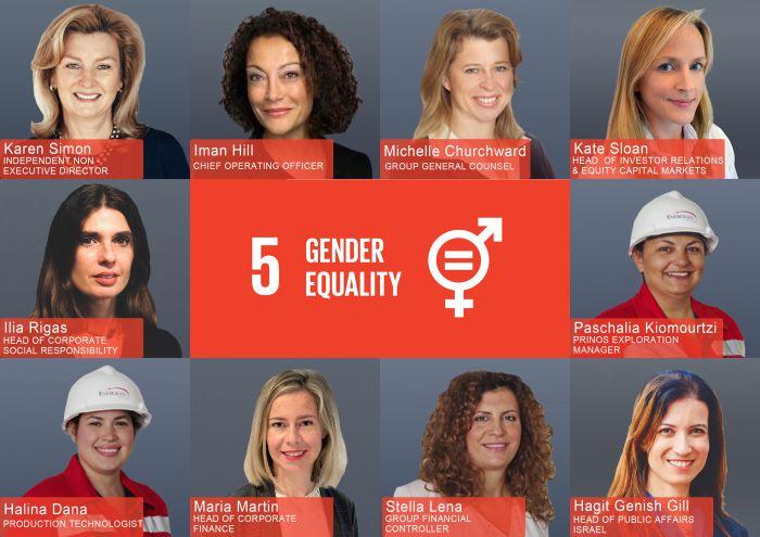 Ο δεκάλογος της Energean για την Ημέρα της Γυναίκας