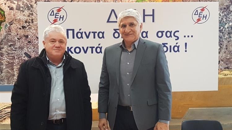 Ο Π. Γιαννάκης στην Πτολεμαΐδα για το Σχολείο Μπάσκετ που υποστηρίζει η ΔΕΗ