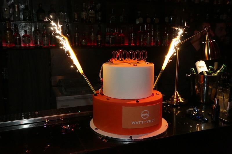 Η WATT+VOLT έλαμψε γιορτάζοντας τους 100.000 πελάτες της