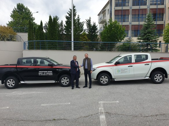 Δωρεά οχημάτων του TAP στην Αποκεντρωμένη Διοίκηση Ηπείρου – Δυτικής Μακεδονίας