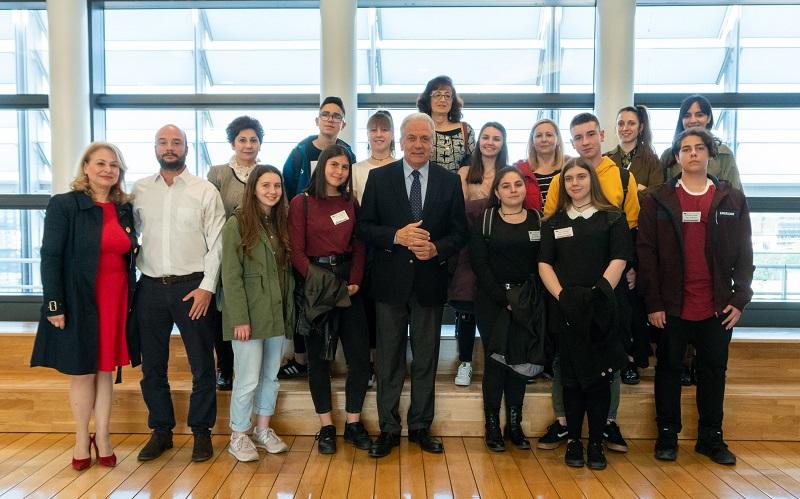Μαθητές από την Άρτα χτίζουν Γέφυρες με την Ευρώπη