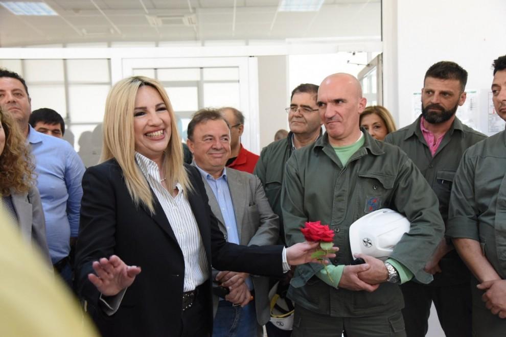 Φ. Γεννηματά: Ο Τσίπρας οδηγεί την ΔΕΗ στη χρεοκοπία