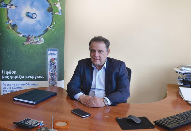 Γ.Λαζαρίδης (ΑΦΗΣ): «Οι Eλληνες συμμετέχουν ενεργά στην ανακύκλωση μπαταριών»