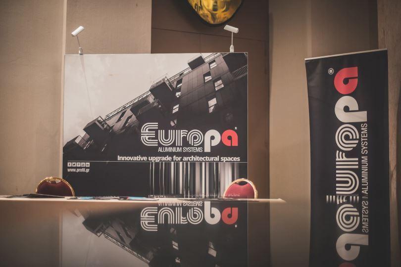 Η Europa χορηγός στην διάλεξη «Architecture for a New Era»