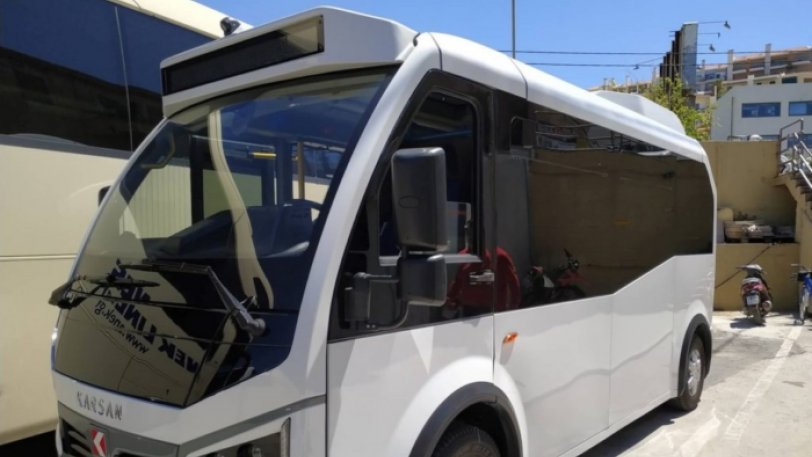 Παίρνει μπρος το πρώτο ηλεκτρικό λεωφορείο στην Ελλάδα