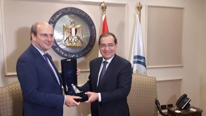 Κάιρο: Τι συζήτησε ο Κ. Χατζηδάκης με τον Αιγύπτιο ομόλογό του