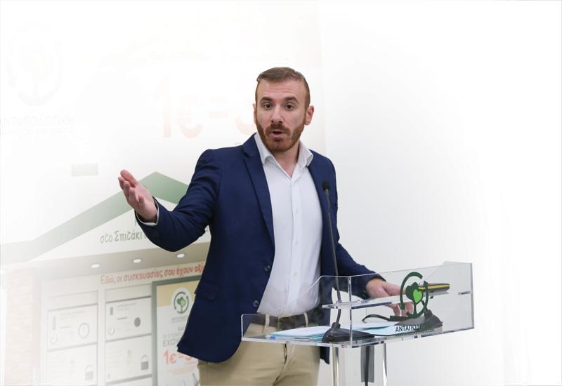 Η.Μουσταΐρας (Ανταποδοτική Ανακύκλωση): «Εκτός στόχου τα ποσοστά ανακύκλωσης στην Ελλάδα»