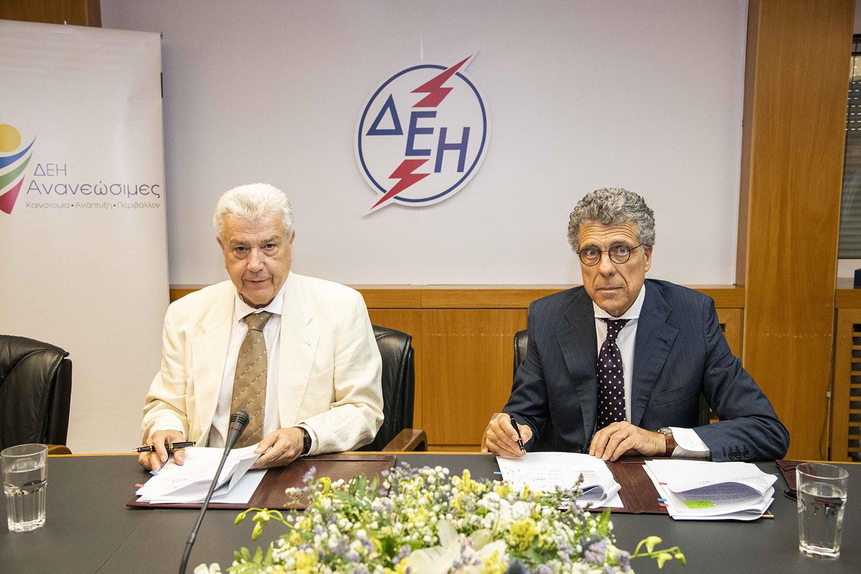 Η ΔΕΗ εξαγόρασε το 45% των αιολικών πάρκων της Volterra