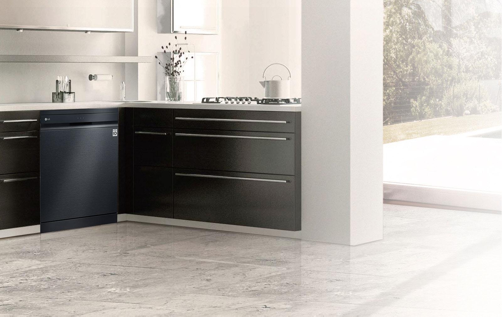 Υψηλή αισθητική και απόδοση από το νέο πλυντήριο πιάτων με ατμό και τεχνολογία QuadWash της LG