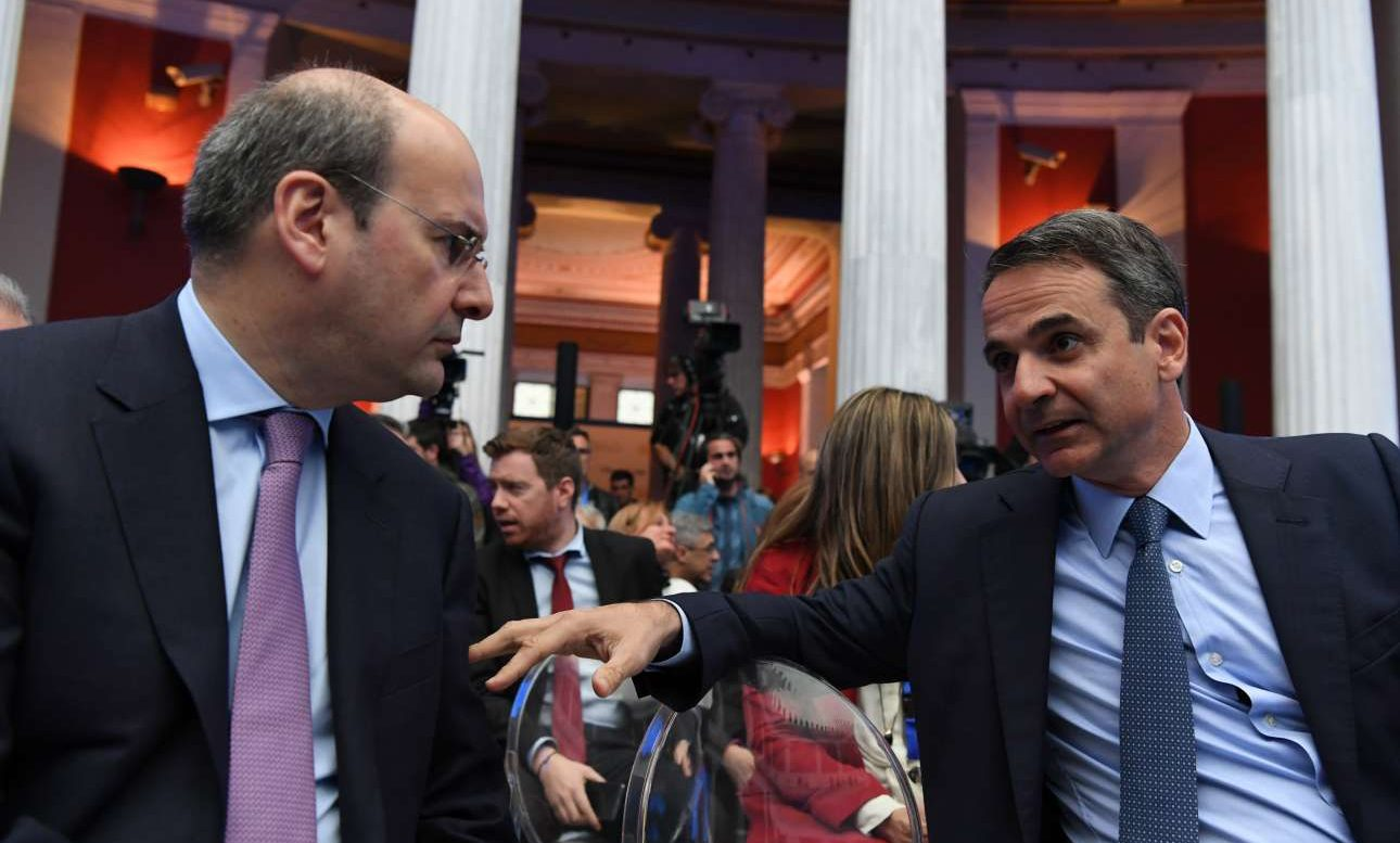 Στην Κύπρο ο Κ. Μητσοτάκης συνοδεία Κ. Χατζηδάκη για τα ενεργειακά