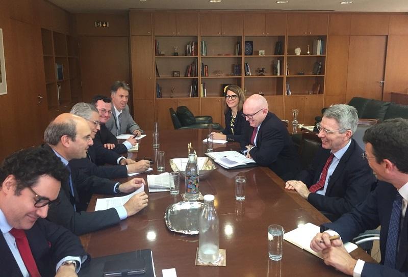 Συνάντηση Κωστή Χατζηδάκη με τον Υφυπουργό Εξωτερικών των ΗΠΑ κ. Philip Reeker