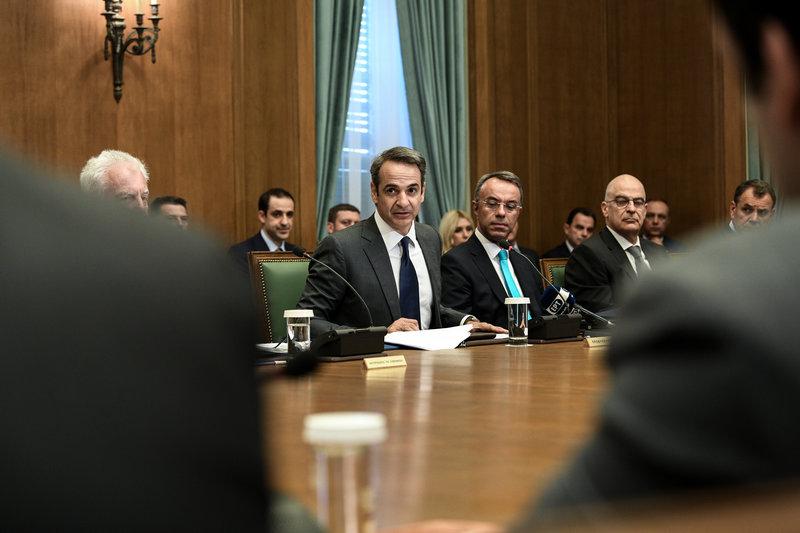 Πραγματοποιήθηκε η παρθενική συνεδρίαση του υπουργικού συμβουλίου