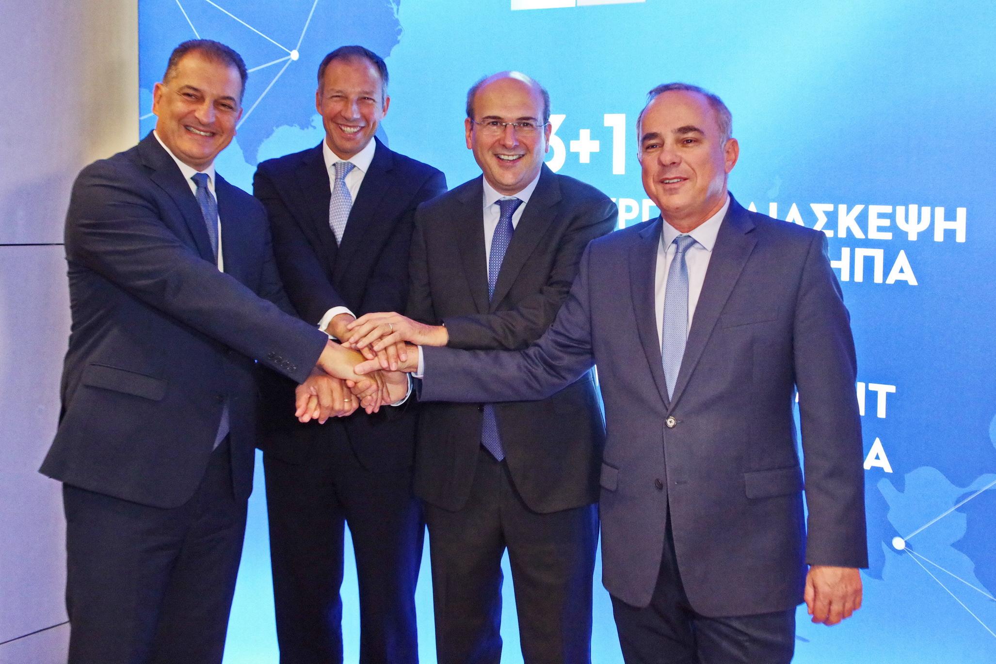 Επιτάχυνση των διαδικασιών του East Med αποφάσισε η τριεθνής ενεργειακή διάσκεψη της Αθήνας