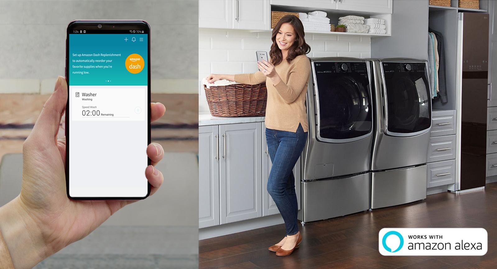 Οι συσκευές LG THINQ με την υπηρεσία ανανέωσης αναλώσιμων της Amazon αλλάζουν τα δεδομένα στην IFA 2019