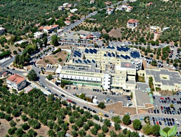 Νοσοκομείο Καλαμάτας: Ξεκινά η υλοποίηση του μεγαλύτερου φωτοβολταϊκού πάρκου σε δημόσια υπηρεσία