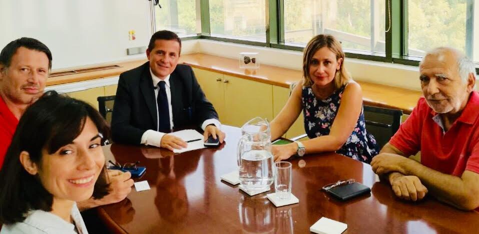 Συναντήσεις Κ. Αραβώση με τη WWF Hellas, την Ορνιθολογική Εταιρία και το Δίκτυο Μεσόγειο SOS