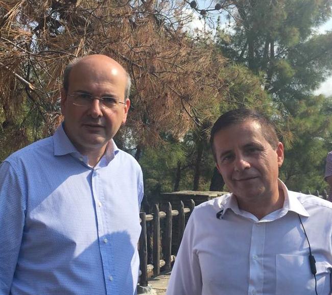 Κ. Χατζηδάκης: Άμεση διάθεση 500.000 ευρώ για την αντιμετώπιση του φλοιοφάγου εντόμου στο δάσος του Σέιχ Σου