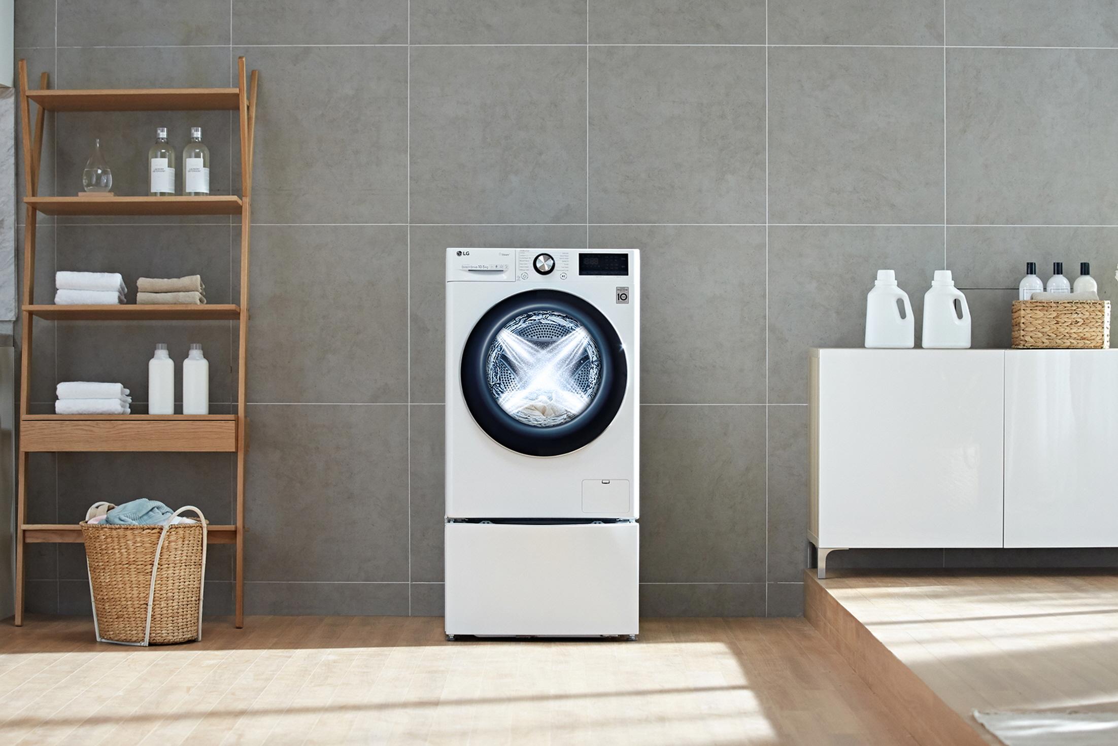 Η LG παρουσιάζει τα νέα πλυντήρια ρούχων με τεχνητή νοημοσύνη και ενισχυμένο Direct Drive (DD) μοτέρ