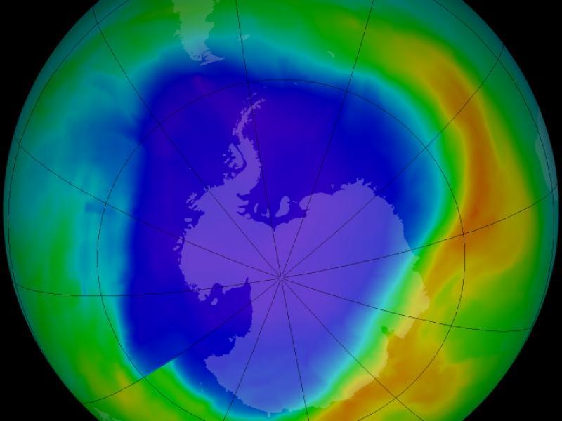 Μικραίνει η τρύπα του όζοντος στην Ανταρκτική; Αυτό δείχνουν στοιχεία του 2019