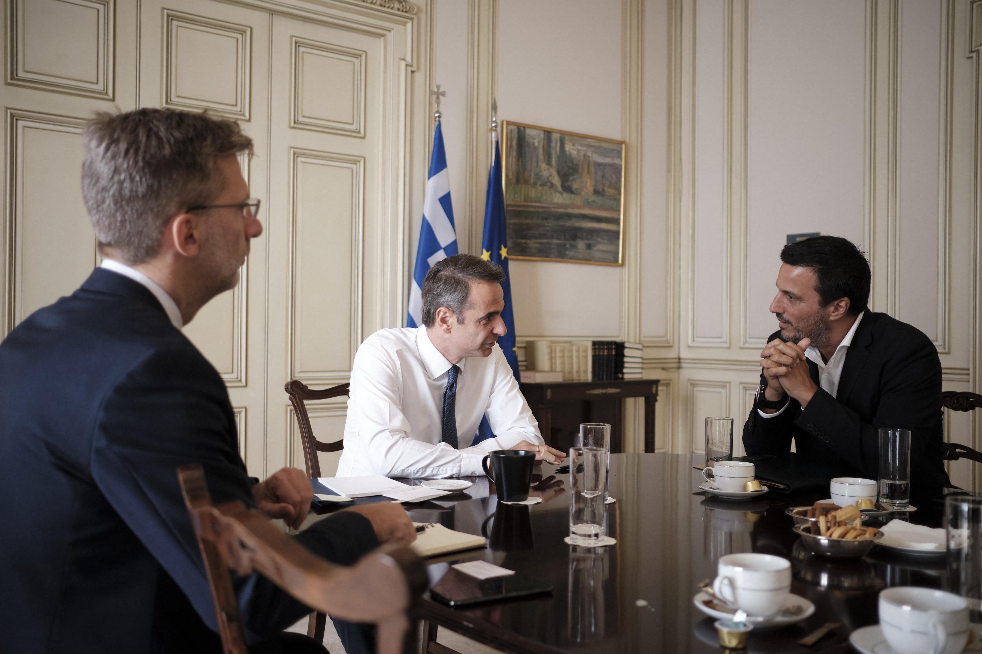 Κ. Μητσοτάκης – διευθυντής WWF συζήτησαν για το περιβάλλον