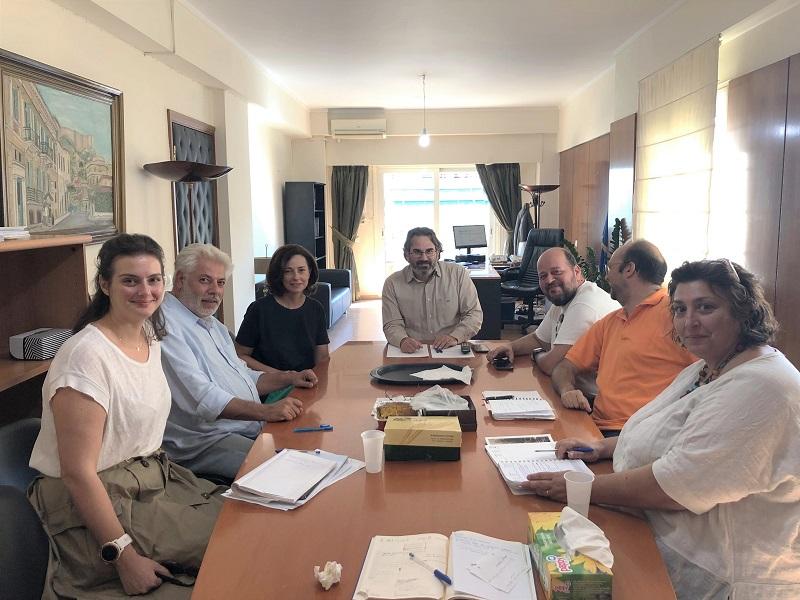 Συνάντηση Ευθύμιου Μπακογιάννη με την αντιπεριφερειάρχη Βορείου Τομέα Αττικής και εκπροσώπους της «ΠοδηλΑττικής Κοινότητας»