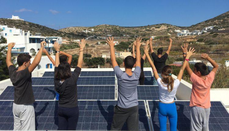 «Η Ενέργεια για Ζωή Tαξιδεύει» / Εγκατάσταση φωτοβολταϊκού συστήματος παραγωγής ηλεκτρικής ενέργειας στο Γυμνάσιο Δονούσας