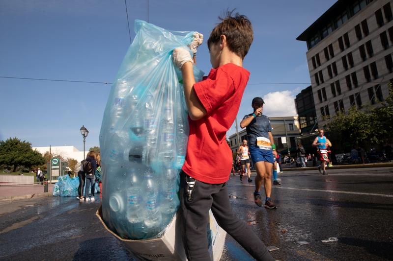 Η ΕΕΑΑ ανακυκλώνει στον Αυθεντικό Μαραθώνιο Αθήνας