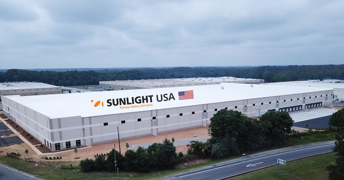 Στην αγορά της Αμερικής εισέρχεται η Sunlight