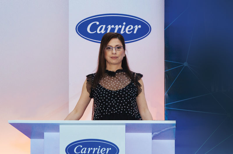 Σ.Τιλαβερίδη (Carrier): «Η κρίση ανήκει πια στο παρελθόν και θα αναπτυχθούμε με ακόμη μεγαλύτερους ρυθμούς…»