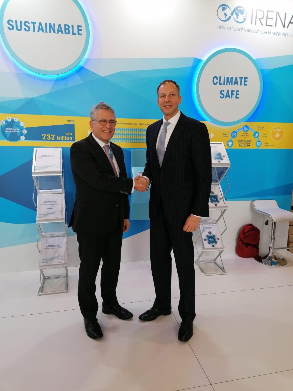 Συμμετοχή του υφυπουργού Ενέργειας κ. Γεράσιμου Θωμά στην 10η Συνάντηση της Ολομέλειας της IRENA