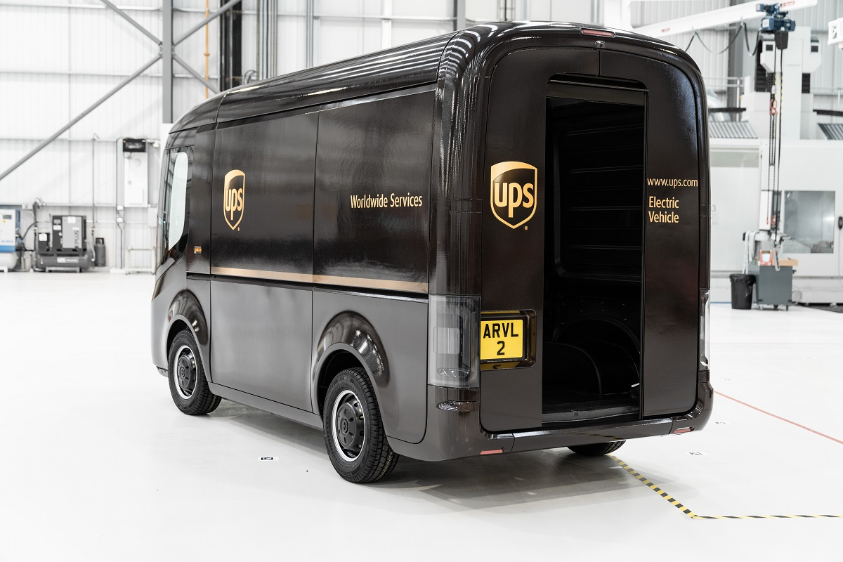 H UPS επενδύει στην Arrival και ενισχύει την ηλεκτροκίνηση του στόλου της