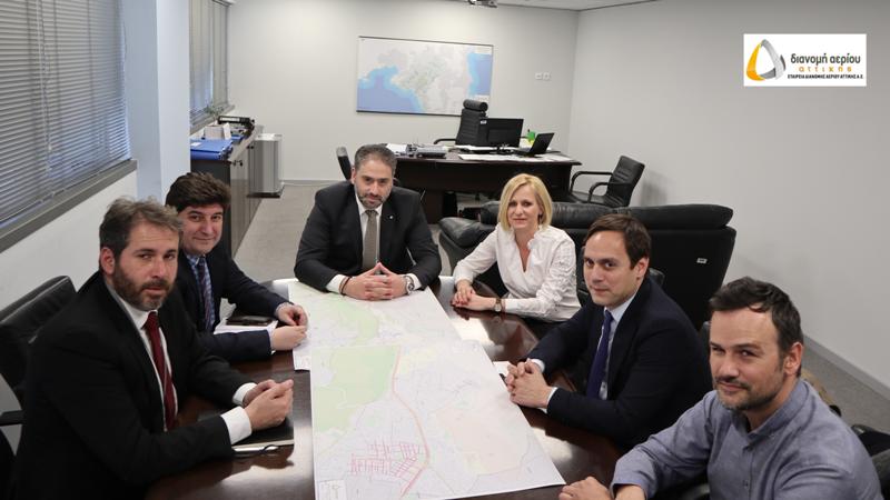 Σε εφαρμογή το σχέδιο επέκτασης δικτύου φυσικού αερίου στη Δυτική Αττική και τον Δήμο Χαϊδαρίου
