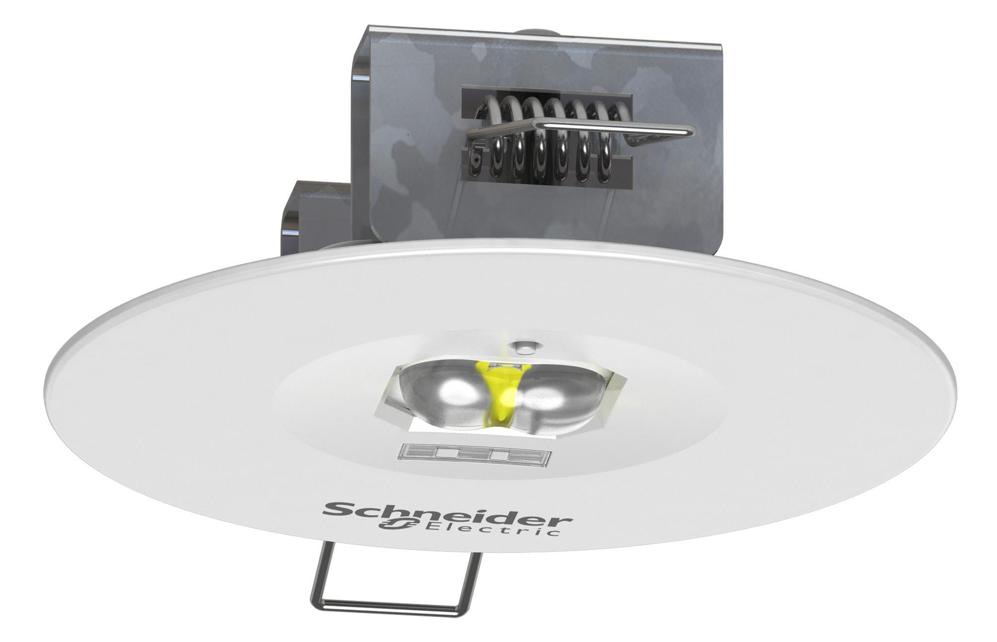 Η Schneider Electric παρουσιάζει τα αυτόνομα φωτιστικά ασφαλείας Exiway SmartBeam για κτίρια