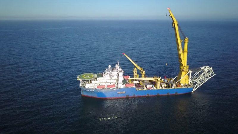 Με τα πολεμικά της πλοία τελειώνει τον Nord Stream II η Ρωσία