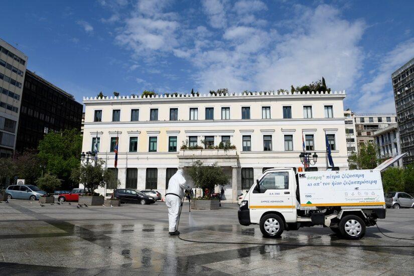 Κυριακάτικες δράσεις καθαριότητας από τον Δήμο Αθηναίων
