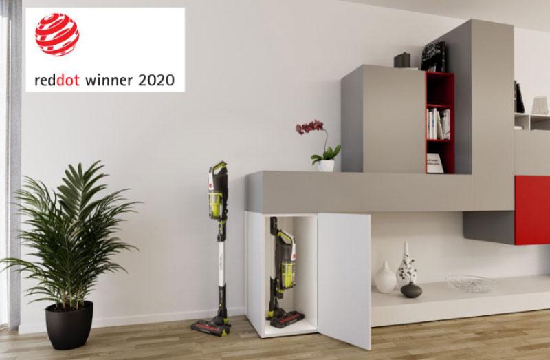 Βραβείο σχεδιασμού για την ασύρματη σκούπα stick H-FREE 500 της Hoover