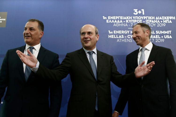 Τον Ιούνιο η δεύτερη ενεργειακή διάσκεψη Ελλάδας – Ισραήλ – Κύπρου και ΗΠΑ για τον EastMed