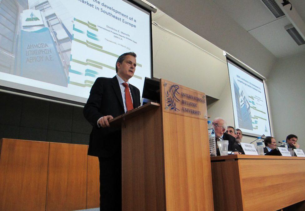 Δ. Μανώλης: Βιώσιμο, ανταγωνιστικό και οικονομικά αποδοτικό έργο ο East Med